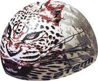 Шапочка для плавания (белая; леопард; арт. PSC425)