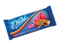 "Шоколад молочный ""E. Wedel. Малина"" (100 г)"