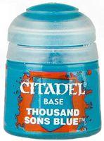 "Краска акриловая ""Citadel Base"" (thousand sons blue; 12 мл)"