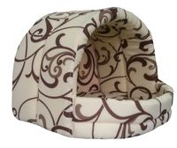 Домик для животных (36х36х29 см; белый шоколад)