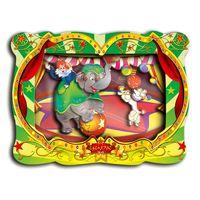 """3D аппликация """"Слоненок в цирке"""""""