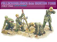 "Набор миниатюр ""Fallschirmjager 8cm Mortar Team Italy 1944"" (масштаб: 1/35)"