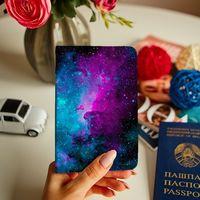 "Обложка на паспорт ""Космос наш"""