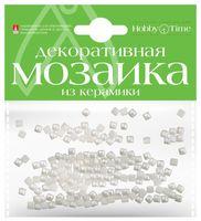 Мозаика декоративная из керамики №1 (4х4 мм; 200 шт.; белый)