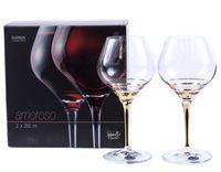 "Бокал для вина стеклянный ""Amoroso"" (2 шт.; 350 мл)"