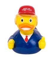 """Игрушка для купания """"Уточка Дональд Трамп"""""""