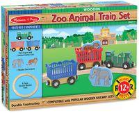 """Игровой набор """"Поезд с дикими животными"""" (арт. 643)"""