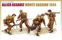 "Набор миниатюр ""Allied Assault Monte Cassino 1944"" (масштаб: 1/35)"