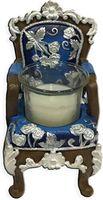 """Подсвечник """"Синий трон"""" (6,5х6х10 см; арт. 44563)"""