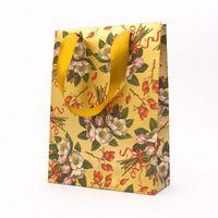 """Пакет бумажный подарочный """"Roses and Berries"""" (23,5х17х7 см)"""