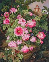 """Набор для вышивания """"Розы королевы Виктории"""""""