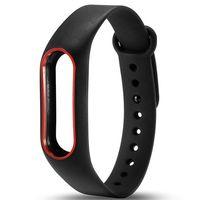 Ремешок для Xiaomi Mi Band 2 (черный с красным)
