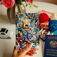 """Обложка на паспорт """"Comics"""""""