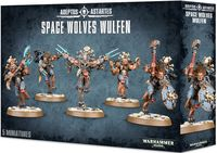 Warhammer 40.000. Space Wolves. Wulfen (53-16)