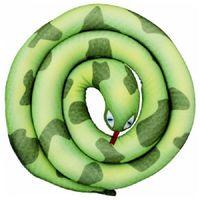 """Игрушка-антистресс """"Змея-спираль"""" (140 см; зелёный)"""