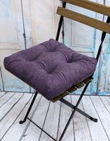 """Подушка на стул """"Velours"""" (40х40 см; фиолетовая)"""