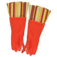 Перчатки кухонные с манжетой красные (арт. 29480)