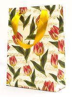 "Пакет бумажный подарочный ""Tulips"" (23,5х17х7 см)"