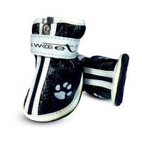 """Ботинки с """"лапками"""" (5х4х5 см; черные)"""