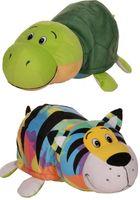 """Мягкая игрушка """"Вывернушка. Тигр-черепаха"""" (40 см)"""