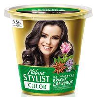"Краска для волос ""Nature Stylist Color"" тон: 4.36, амаретто"