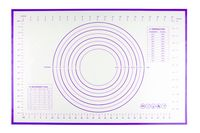 Коврик для теста (600х400 мм; фиолетовый)