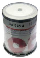 Диск DVD+R Double Sided 9.4 Gb 8x Daisy Inkjet Printable CakeBox 100
