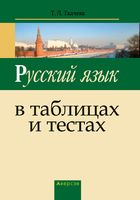 Русский язык в таблицах и тестах. Пособие для подготовки к централизованному тестированию