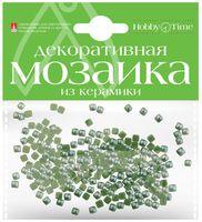 Мозаика декоративная из керамики №4 (4х4 мм; 200 шт.; зеленый)