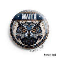 "Значок ""Watch"" (арт. 1808)"