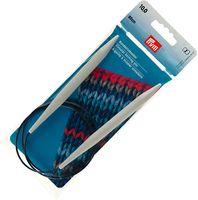 Спицы круговые для вязания (пластик; 10 мм; 80 см)