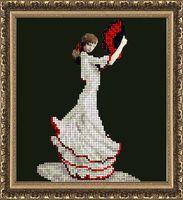 "Вышивка бисером ""Танец страсти"" (148х162 мм)"