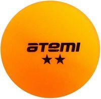 """Мячи для настольного тенниса """"ATB201"""" (6 шт.; 2 звезды; оранжевые)"""