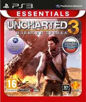 Uncharted 3. Иллюзии Дрейка. Essentials [PS3] (Игра поддерживает 3D-режим)