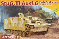 "САУ ""StuG.III Ausf.G Early Production w/Schurzen"" (масштаб: 1/72)"