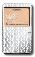 """Тональное средство для лица """"Alliance Perfect Genius 4в1"""" (тон: 1.5.N, светло-бежевый)"""