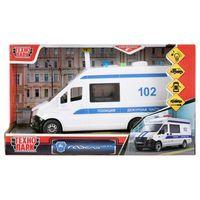 """Модель машины """"Газель Next. Полиция"""" (арт. NEXTVAN-22PLPOL-WH)"""