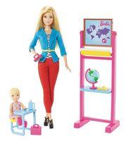 """Игровой набор """"Барби. Кем быть? Учитель"""""""
