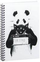 "Блокнот в клетку ""Панда"" A5 (510)"