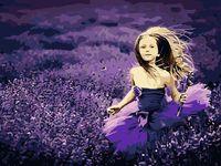 "Картина по номерам ""В лавандовом поле"" (400х500 мм)"