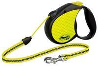 "Поводок-рулетка для собак ""Neon"" со светоотражающими элементами (размер M, до 20 кг/5 м, арт. 20924)"