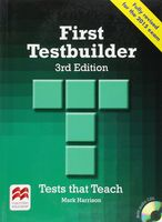 First Testbuilder. Student`s Book Without Key (+ 2 CD)