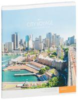 """Тетрадь в клетку 48 листов """"Путешествия. City voyage"""""""