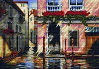 "Вышивка крестом ""Утро в Венеции"" (400х280 мм)"