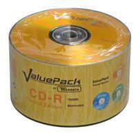 Диск CD-R 700Mb 52x Traxdata (Ritek) ValuePack Bulk 50