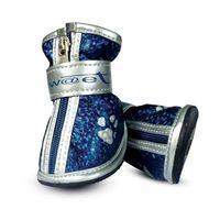 """Ботинки с """"лапками"""" (4,5х4х5 см; синие)"""