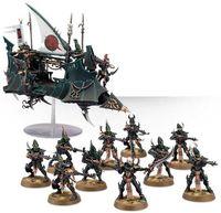 "Набор миниатюр ""Warhammer 40.000. Dark Eldar Kabalite Skysplinter"" (45-24)"