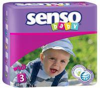 """Подгузники """"Senso baby. Midi"""" (4-9 кг; 22 шт.)"""