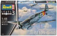 """Сборная модель """"Немецкий истребитель Messerschmitt Bf109 G-10"""" (масштаб: 1/48)"""