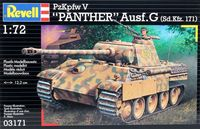 "Сборная модель ""Танк PzKpfw V ""Panther"" Ausf. G"" (масштаб: 1/72)"